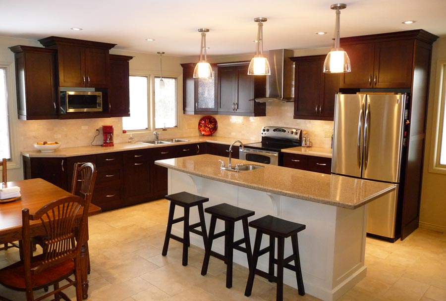 Prepare Up A Scrumptious New Space With Personalized Kitchen Cabinets