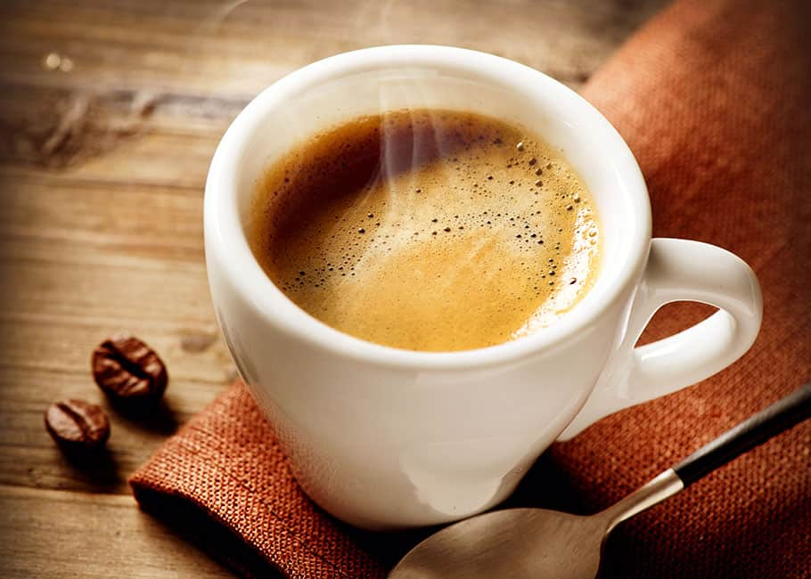 START  YOUR DAY WITH HOT AND STRONG BREWING COFFEE